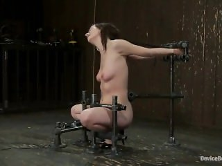 Young slave Lindy is treated in a dungeon