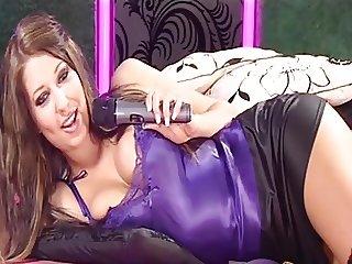 Satin Cami: Tv call girl
