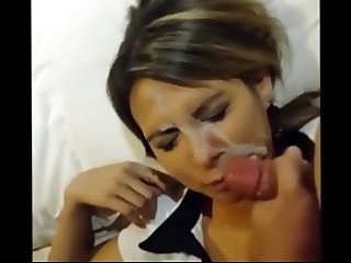 Dunkcrunk amateur facial compilation Episode 132