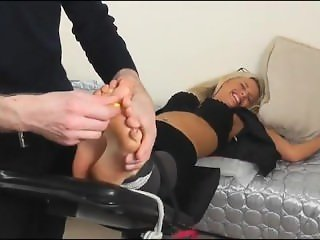 sophia the hottest secretary tickle