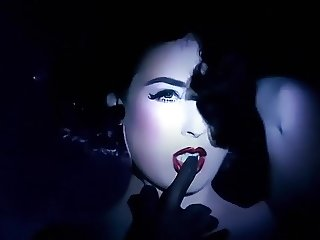 SLAVE TO LOVE - erotic retro glamour striptease music video