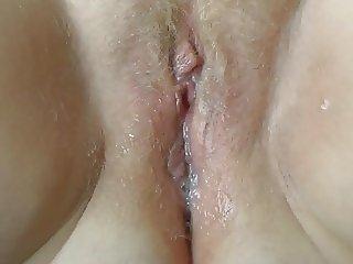My wet, cum filled pussy