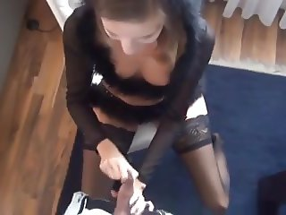 young girl surprised by her anal orgasm