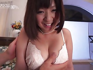 Big Tits nipple play - Wakaba onoue -