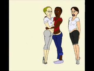 My Interracial Cuckold Fantasy Cartoon - 3