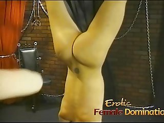 Bossy mistress gives her favorite slave an unforgettable