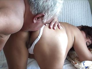 LICKING LYNN IN WHITE PANTY