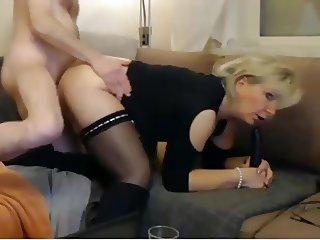 Mom and dad webcam show