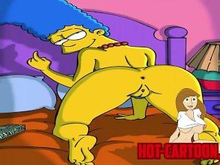 Cartoon Porn Simpsons Porn Marge Masturbate