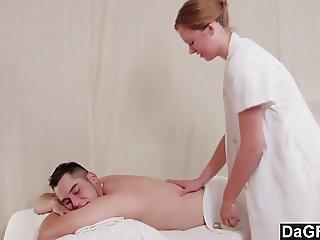Dagfs  Lovely Massage Turns Into Hardcore Fuck