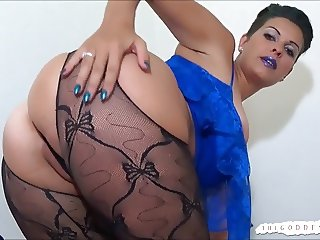 Goddess Brandon's Ass and Titties Mind Fuckery  JOI POV