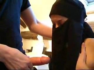 Shaina Beurette French Arab Teen Muslim Hijab Casting Fucked Part. 1