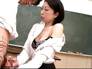 Mature Teacher Blowjob