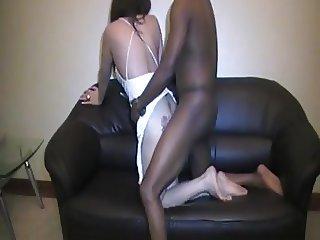 Black fuck this Lebanese arab bitch so Hard
