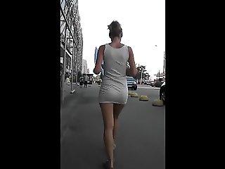 UPSKIRT RUSSIAN BLONDE GREAT ASS
