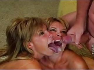 Hot Teen Twins Fucked and Facialised