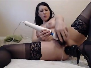 Milf Squirting From Double Penetration