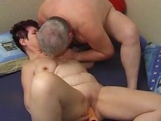 HORNY GRANDMA SUCK AND FUCK