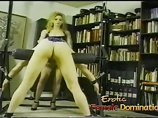 Stud with long hair turns out to be the best slave