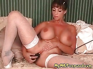 My MILF Exposed Busty pornstar Summer in fishnets and huge d