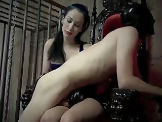 Spanked by Mistress