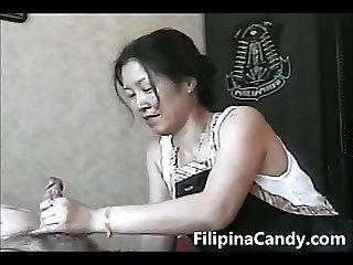 Filipina Candy Presents - Morning Hand Job