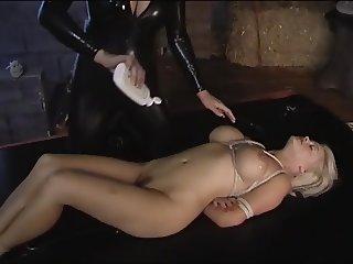 Lesbian bondage massage
