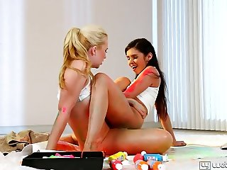 Samantha Rone and Taylor Reed Best Friends Forever