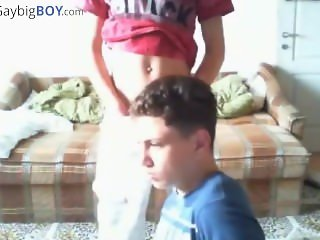 2 cute Romanian boys wank on cam - no cum - gaybigboy