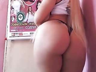 Sexy Blonde Dancing #7