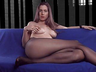 Pantyhose mom talking