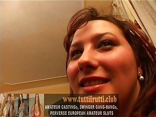 REAL amateur casting