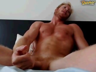 Ginger man jerkoff