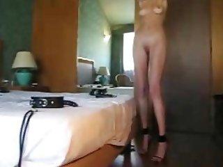 Self bondage whore