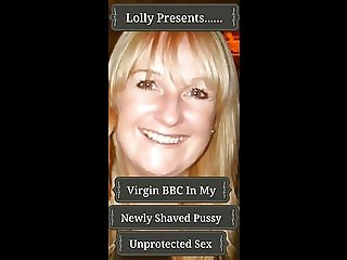 Virgin BBC In My Newly Shaved Pussy Unprotected Sex