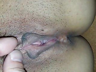 Korean Wife's Creamy Pussy