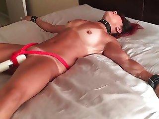 Slutwife in training orgasm
