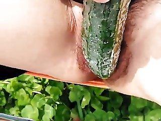 Chinese milf masturbation