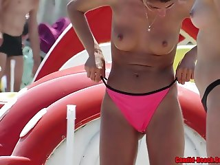 Topless Bikini beach Girls HD Voyeur Video Spy
