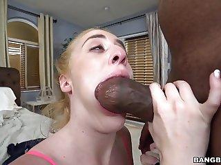 Not Step dad with big black cock fucks Bonnie Gray