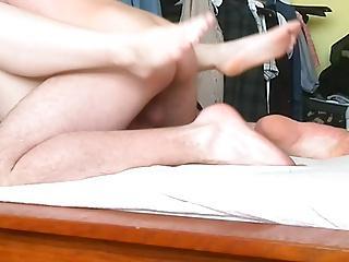 she had hard orgasm