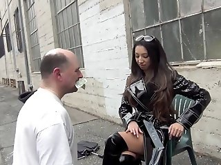 STREET BUM HUMILIATION Starring Empress Jennifer