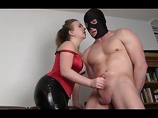ballbusting ejaculation