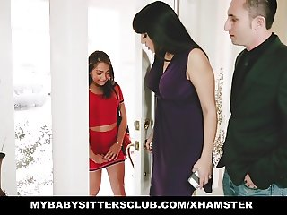MyBabySittersClub- Milf Catches Babysitter Masturbating