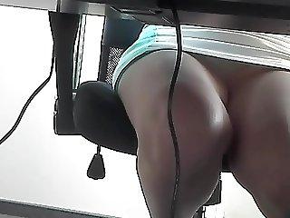 Beautiful Legs Office Worker