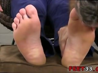Older gays having sex on the roof Logan's Feet & Socks Worshiped