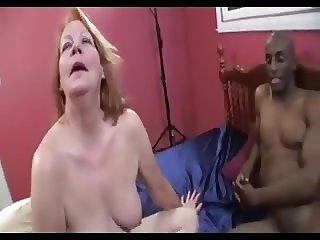 Granny with big tits intrracal