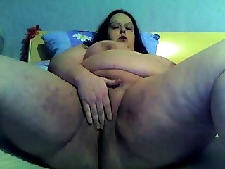 Nympho Slut Fat BBW Teen loves to spread the nasty pussy