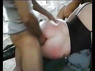 Girls gets her ass destroid  RO7