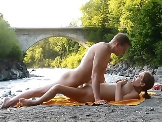 Outdoor River Compilation (Masturbation, sex and orgasm)